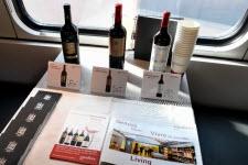 wagons restaurant vins suisses
